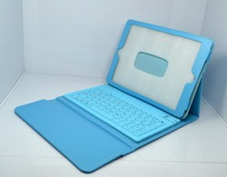 Hot selling leather keyboard express case for IPAD 5