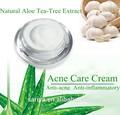 2014 último producto crema limpiadora crema de tea tree face acné cuidado con eficacia la cicatriz del acné