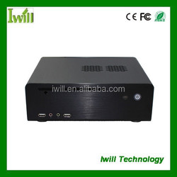 """Mini pc case MPC-HT80 with 2*USB 2.0 and 2.5"""" HDD"""