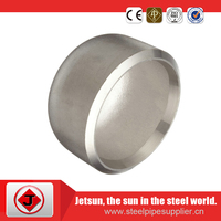 stainless steel round pipe caps
