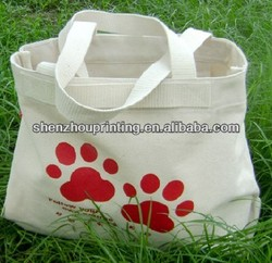 Green Fashion Natural recycled shopping cotton bag full color