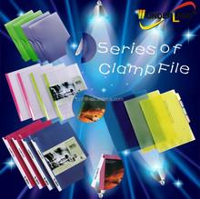 Side clamp fastener Swing spine Clamp file folder
