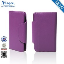 Veaqee cellphone accessories 2015 leather mobile phone case for Samsung Galaxy S6