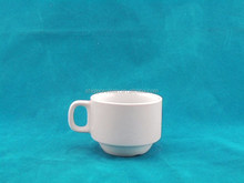 fancy cheap plain white take away coffee cup