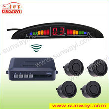 Alibaba China CE front rear wireless electromagnetic infrared parking sensors