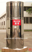 Macon hecho en china copper pipe household water pump all in one water heater, hot water with solar energy system