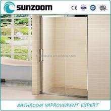 SUNZOOM bath shower door design stainless steel enclosures