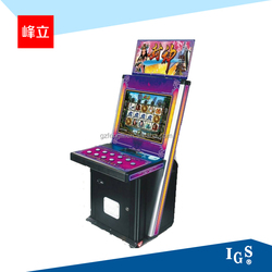 Jackpot game machine 15 reel 9 line Fengshen