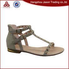 Nuevo diseñador de moda sandalias mujeres