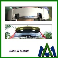 CAR ROOF SPOILER AUTO BODY PART ABS ROOF SPOILER FOR HONDA FIT JAZZ 2014 RS STYLE US TYPE CAR REAR ROOF SPOILER