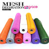 "21"" x 10 yds metallic deco mesh wrap rolls floral mesh floral mesh wrap ribbon wreaths"