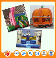 New design and customized size and model inflatable castle