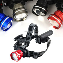 POPPAS T85 High qauality 3Models Flashlight Rechargeabale Headlamp Led