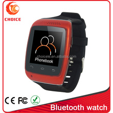 cheapest bluetooth watch mobile phone with pedometer for running lovers