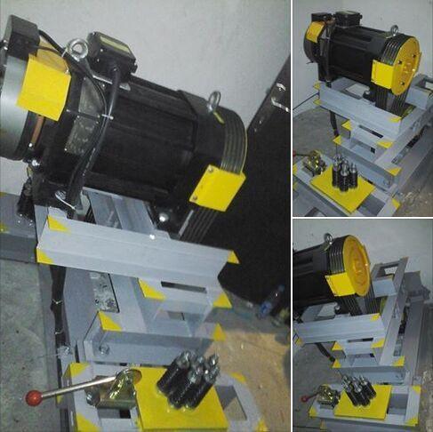 WTD2-P 630KG traction machine with car window lift motors
