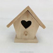 3D handmade decorative wooden bird house,wooden bird feeder