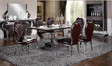 living room restaurant dining table for 5 star hotel presidential suit