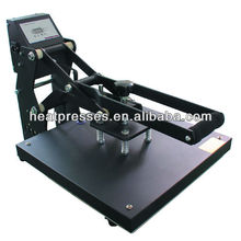 """Manual Clamshell 15""""x15""""&16""""x20"""" 8 in 1 combo heat press machine directly from Auplex factory (HP3804B)"""