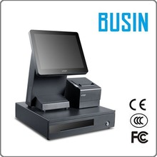 """12.1"""" Capactive Touch Dual Screen POS System/ Two Touch POS system TD2-C1+ with 80mm POS thermal printer rp80"""