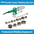 maquina termofusion PPR nueva a estrenar Soldadura de tuberías de plástico Para soldagem de Tubos e Conexões em PP-R, PE e PB