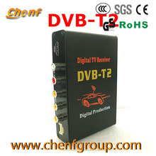 OEM HD Mobile Car TV Receiver DVB T2 For Thailand 1080P Full HD MPEG4 H.264 PVR