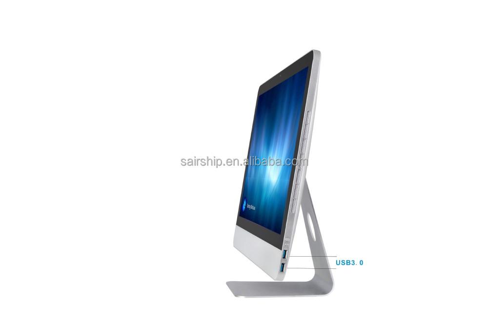 Ultra slim hot sell all in one barebone pc, all in one pc i3 | i5 | i7 CPU OEM AIO PC 18.5'' 21.5'' 23.6''