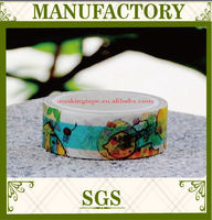 hot selling product made in china free sample DIY decoration custom printed washi tape wholesale