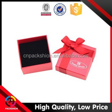 Dongguan Factory Accept Custom Paper Packaging Box Jewelry