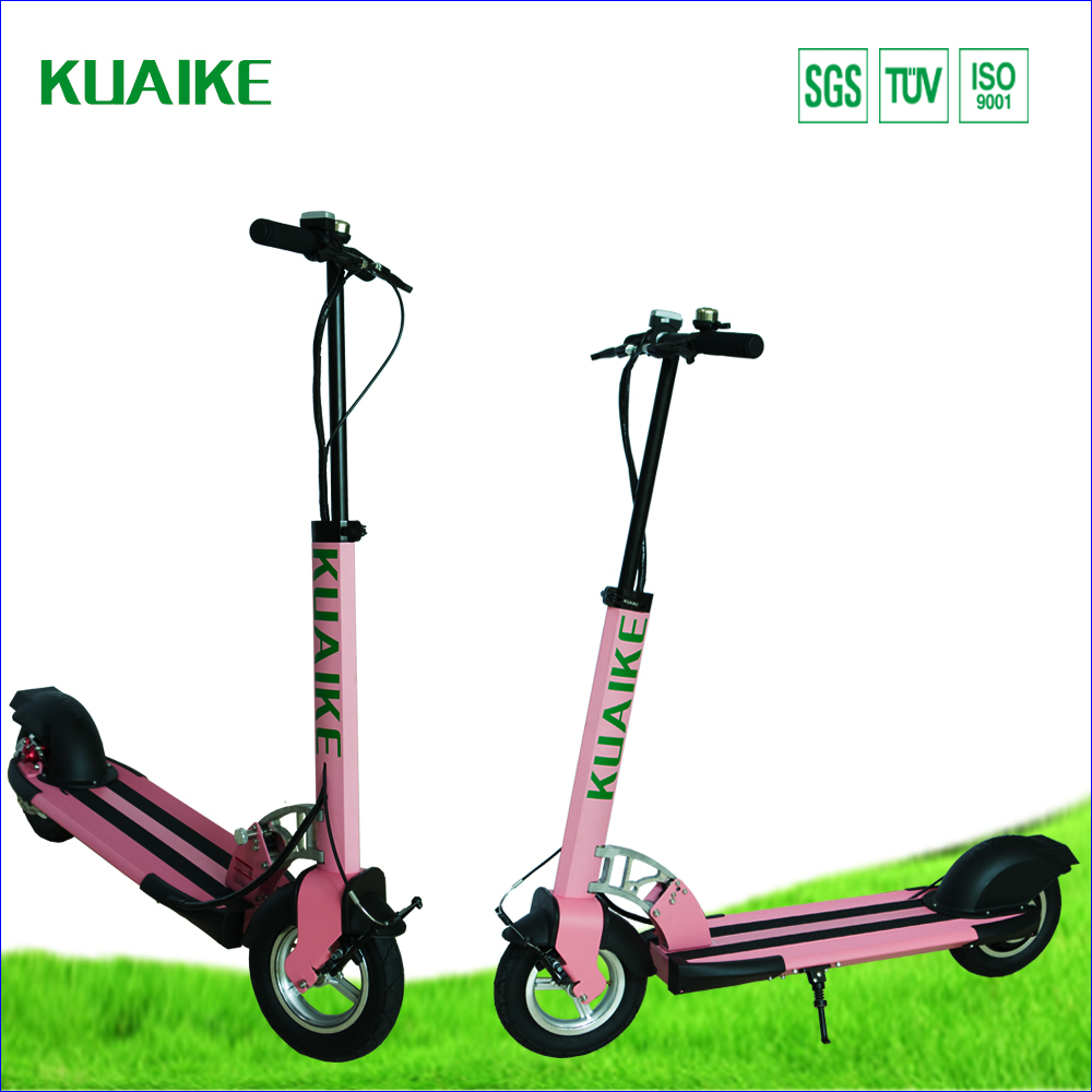 250w 48v foldable adult electric scooter mini best quality for Folding motorized scooter for adults
