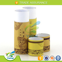 Exquisite round cardboard essential oil box