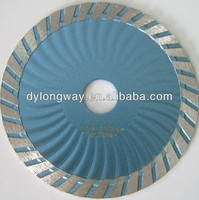 "105mm hot press turbo wave 4""diamond saw blade marble stone cutting diamond blades concrete electric concrete saw for granite"