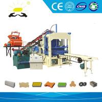 10% off concrete fly ash QTYF4-15 brick making machine 2013 Hot sale