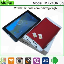 7 inch android 4.4 pc tablet, low cost 3g phone tablet, mapan gsm phone tablet pc