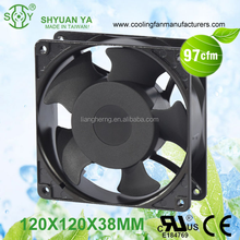 High Efficiency Low Watt Ball Bearing PC Cooling Fan