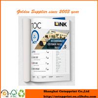 2015 Newest Customized glossy magazine printing Catalogue