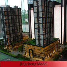 real estate selling famous building abs plastic model
