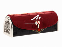 Lid kingstar custom plain canvas cosmetic bag&cosmetic case for sale