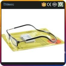 sport glasses hot seal plastic slide blister packaging packing box