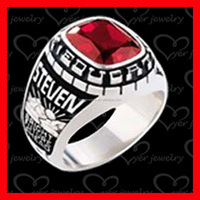 wholesale cheap stainless steel ring high school class ring