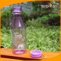 Factory price 500ml Clear Plastic Soda Bottles bpa free