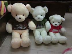 factory sale cute custom hot selling 2015 new designed plush teddy bear cheap high quality teddy bear new style teddy bear