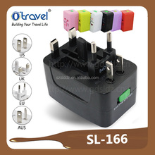 4 type plugs UK/US/EU/AUS travel plug adapter walmart
