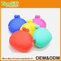 Bulk wholesale silicone coin purse for lady