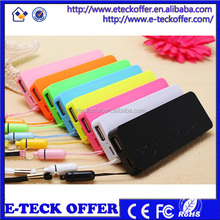 Ultra Slim External Cell Phone Battery Charger 3000mAh Power Bank Portable cell phone Charger