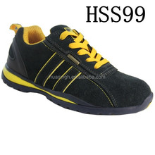 SY,Cheap price shock resistant European popular skidproof jogger shoes/safety trainer with steel toe