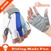 Bike Cycling Gloves Men's Motorcycle Gel Silicone Fingerless half finger gloves women