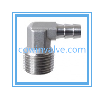Hose Barb Elbow On Home Brewing Equipment