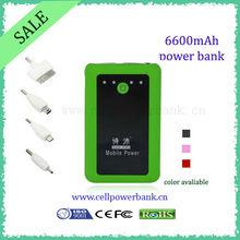 dual usb portable power bank for samsung galaxy s2