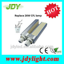 Replace 26W CFL G24 13W LED PLC
