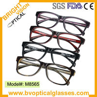 Double color mixed wholesale acetate eyewear in stock(M8565)